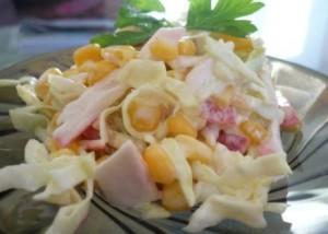 крабовый-салат-с-капустой
