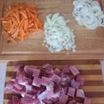 лук-морковь-мясо
