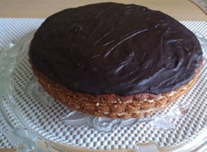 глазурь на торте