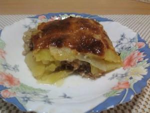 запеченный картофель по французски