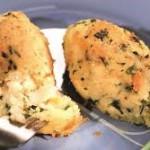 Картофельные зразы с минтаем