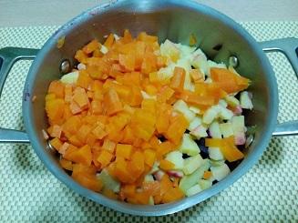 морковь с картошкой