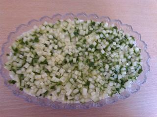 огурец в салате