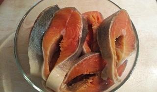 резанная рыба