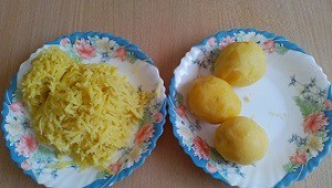 трем картофель