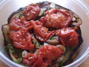 жаренные помидоры