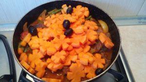 маслины с морковью