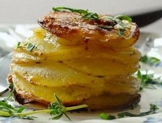закуска из картофеля с сыром