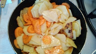 garim kartofel i morkof