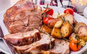 svinaya shejka s kartofelem