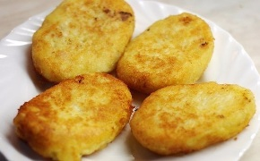 kotlety iz kartofelya котлеты из картофеля