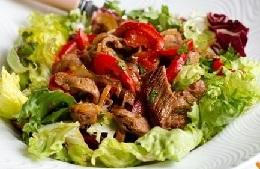мясные салаты