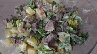 zapravlaem salat