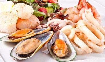 морепродукты для салата