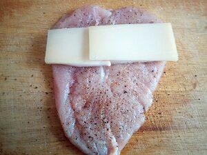 сыр на бекон