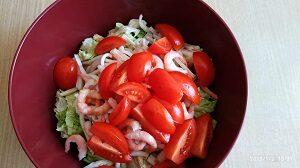 помидоры в салате