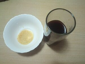 кофе с желатином