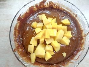 манго в тесто