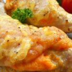 куриные окорочка фаршированные сыром