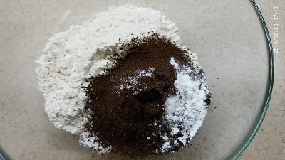 мука с какао