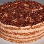 шоколадный торт без выпечки