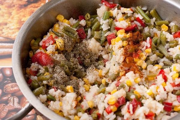 рис- и -овощи