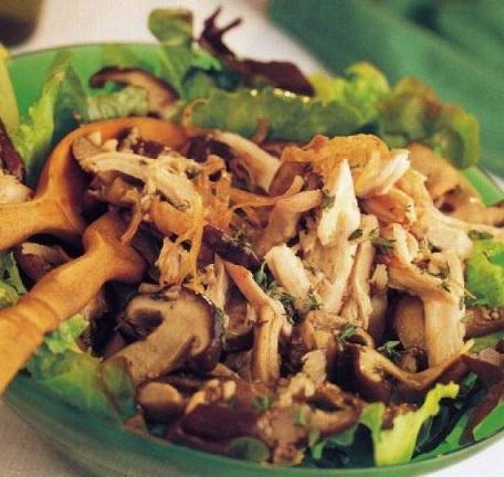 салат-с-курицей-и-грибами