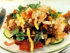 salat iz baklazhanov s lososem