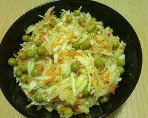 Салат - с яблоком salat s jblokom