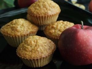 yablochnye keksy Яблочные кексы