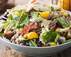 Салат летний из овощей