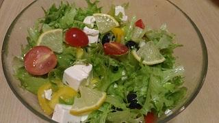 salad greceski салат греческий