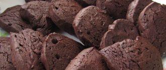 шоколадное печенье shokoladnoe-pechene