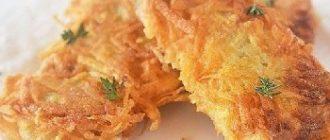 рыба в картофельной панировке