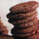 хрустящее шоколадное печенье