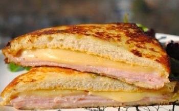 сендвич с ветчиной и сыром