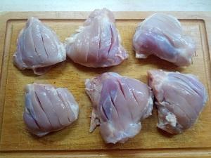 подготовим курицу
