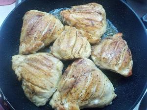 жарим куриные бедра