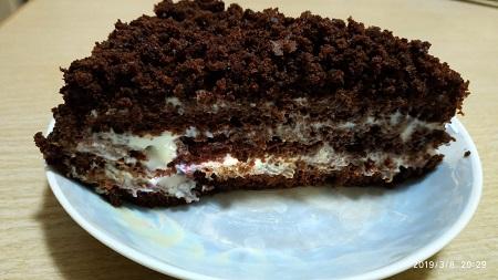 """торт """"черный принц """""""