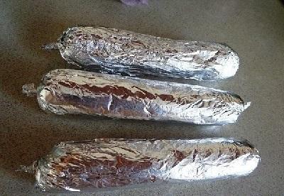 формируем колбаски