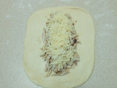 начинку на тесто
