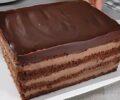 шоколадный торт с кремом из творога