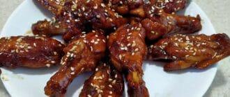 куриные крылышки по китайски