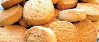 домашнее печенье на майонезе