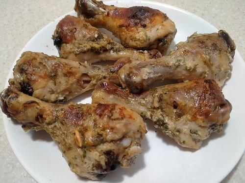 куриные голени в маринаде со специями