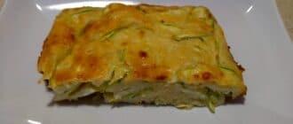 запеканка с кабачком и сыром
