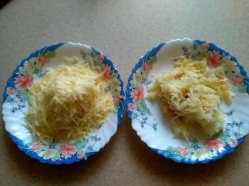 трем яблоки и сыр