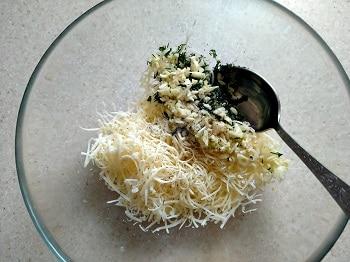 сыр с чесноком