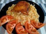 пряная курочка с рисом