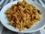 рецепт риса с индейкой